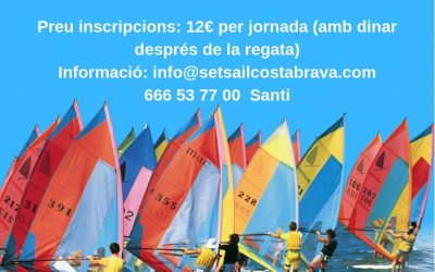 Regata Windsurf Raceboard Playa de Aro